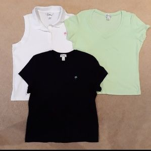 All 3 new Lilly Pulitzer tops